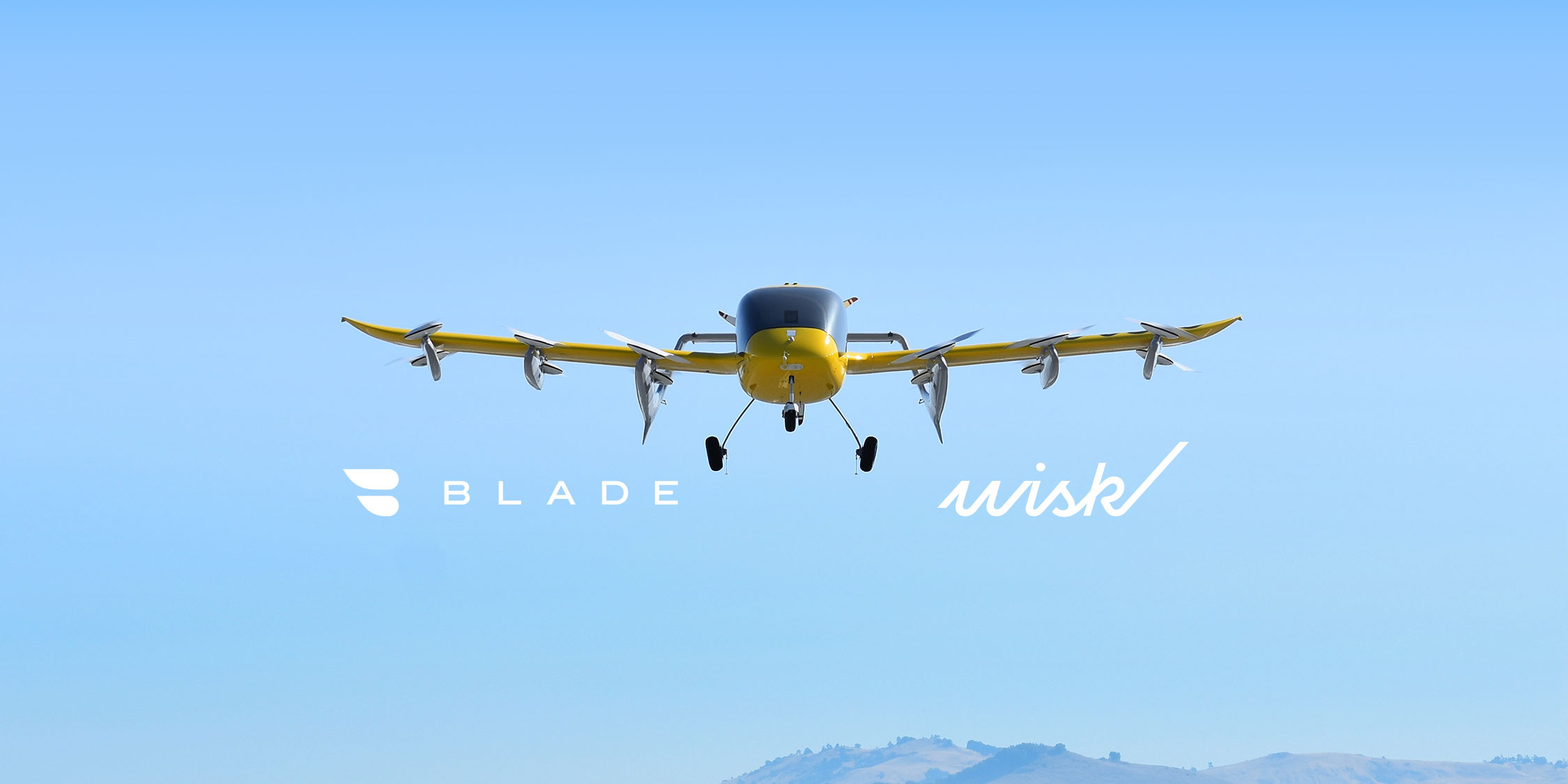 Wisk to Provide and Operate up to 30 Electric Vertical Aircraft for Key Blade Urban Air Mobility Routes